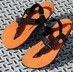 Thin soled sandals